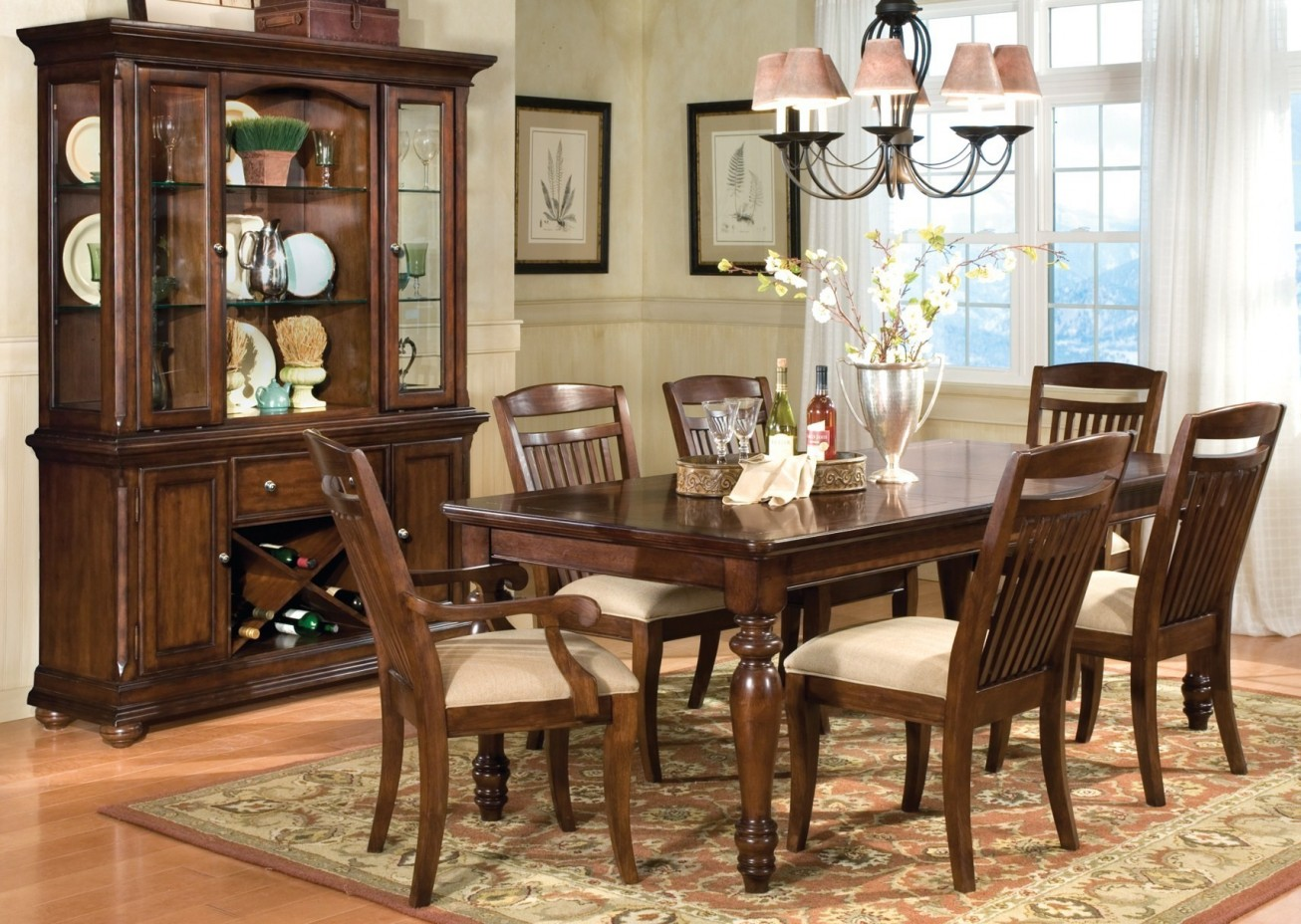 ashley furniture dining room chairs kids chair with ottoman sets inspiration home magazine