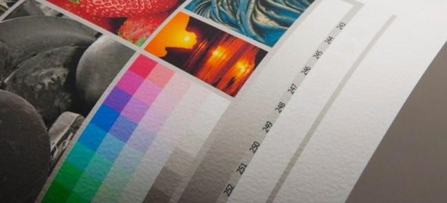 Detalhe do papel - Impressão Fine Art