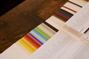 Catálogo papéis Inapa, Tipografia Sintrense