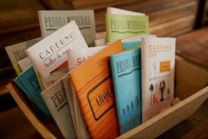 Cadernos Serrote, bloco de notas serrote, Tipografia Sintrense