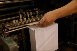 Produção offset, Tipografia Sintrense