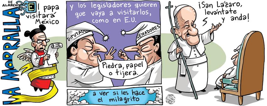 Disputa papal - Alarcón