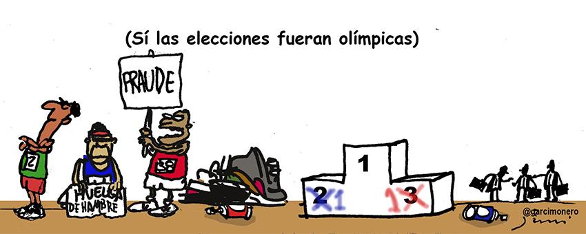 Elecciones olímpicas - Garcí