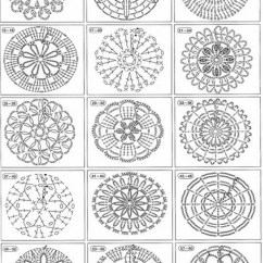 Pineapple Crochet Doily Diagram Ez Boom Wiring Motivos Em CrochÊ – Gráficos E Receitas