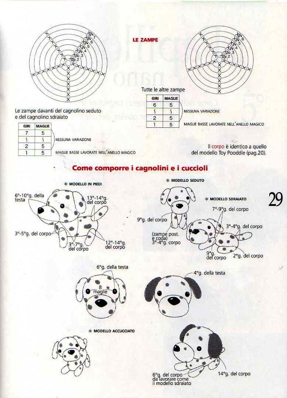 Revista – amigurumi cachorrinhos