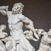 Grupa Laokoona Rzym posąg