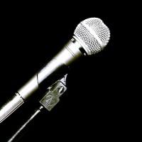 Mikrofon muzyka statyw kabel