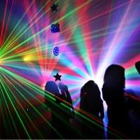 Party impreza światła stroboskopy