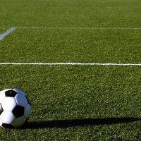 Piłka nożna boisko murawa trawa linie