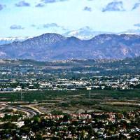 Widok z gór na miasto