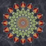 2010/05/16 Yarnbury Castle, Wiltshire, UK - Mandala