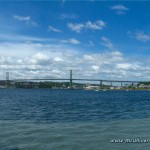 1024x768 Desktop Wallpaper - MacDonald bridge