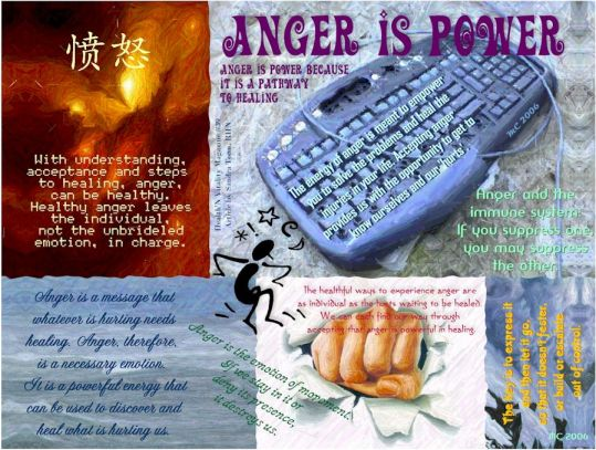 Anger is Power