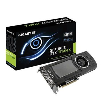 GIGABYTE GeForce GTX TITAN X 12GB GDDR5 PCI-E 3.0 - 1