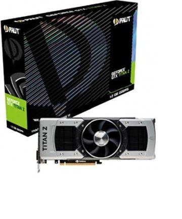 Palit NE5XTIZ010K7F GeForce GTX Titan Z Grafikkarte (PCI-e, 12GB GDDR5, Dual DVI, HDMI, DP, 3x GPU) - 1