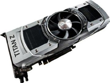 Palit NE5XTIZ010K7F GeForce GTX Titan Z Grafikkarte (PCI-e, 12GB GDDR5, Dual DVI, HDMI, DP, 3x GPU) - 3