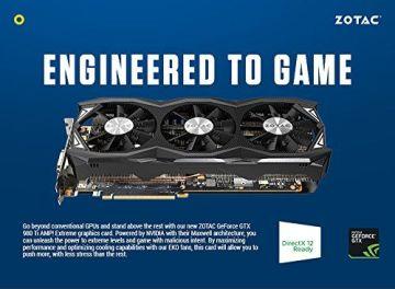 ZOTAC GeForce GTX 980TI AMP Extreme 6GB GDDR5 384b - 9
