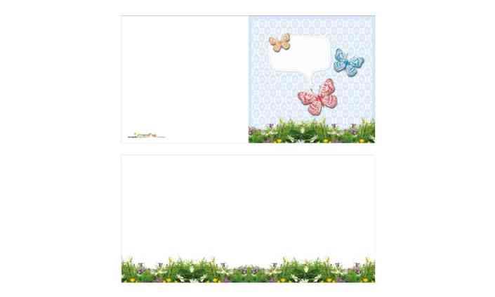Grusskarte - Butterfly - Grafik Design - grafik ZUM GLÜCK.CH