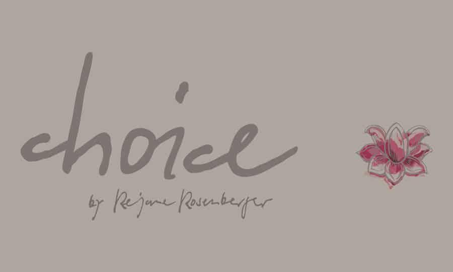 Logo Design - choice-by-RE - Grafik Design - grafik ZUM GLÜCK.CH