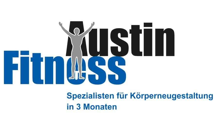Visitenkarten Design - Austin Fitness - Grafik Design - grafik ZUM GLÜCK.CH