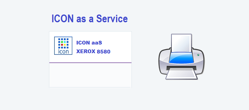 Icon aaS XEROX 8580 Printer