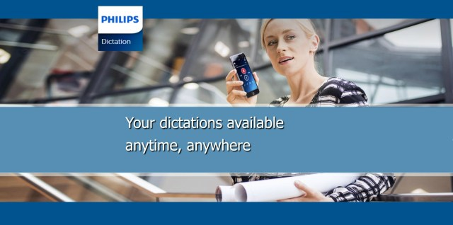 Philips Digital Recorder Dictation App