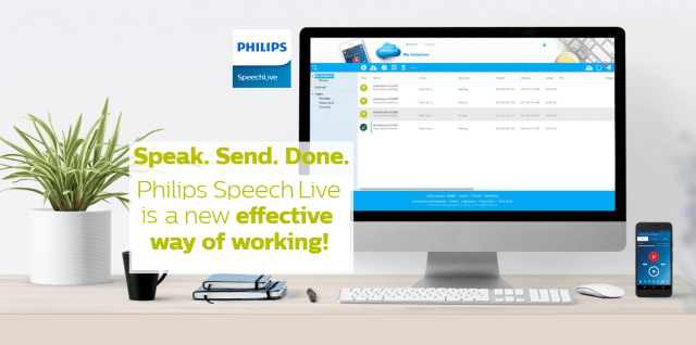 Work Anywhere With Philips Speech Live Digital Dictation