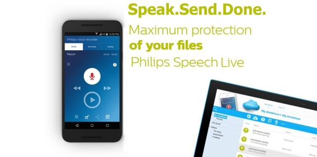 Philips Speech Live Dictation