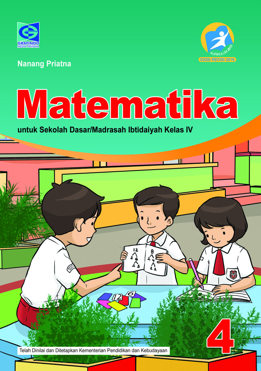 Pelajaran Matematika Kelas 4 Sd : pelajaran, matematika, kelas, Siswa, Aktif, Kreatif, Belajar, Matematika, Kelas, Grafindo, Media, Pratama