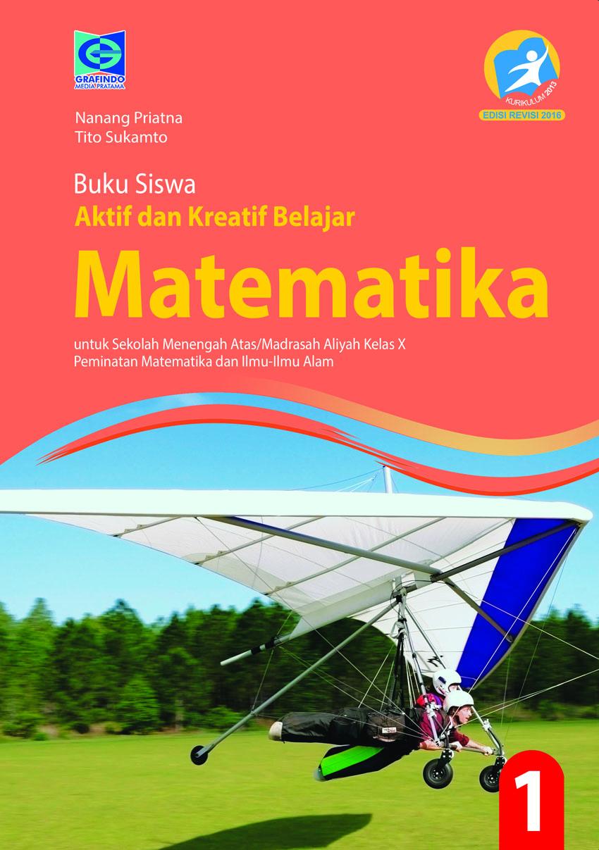 Buku Matematika Peminatan Kelas 10 Pdf : matematika, peminatan, kelas, Aktif, Kreatif, Belajar, Matematika, Peminatan, Grafindo, Media, Pratama