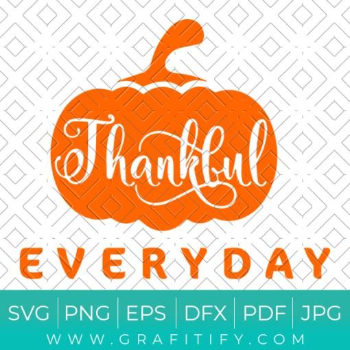 Thankful Everyday Svg