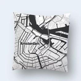 Kussen stadsplattegrond