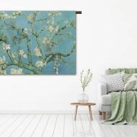 Wandkleed almond blossom