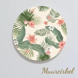 Muurcirkel Tropical