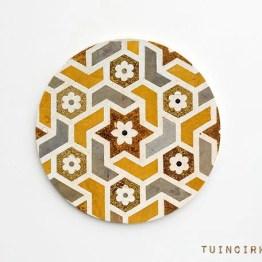 Retro tuincirkel