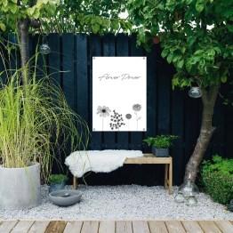 tuinposter Flower power