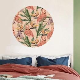 Behangcirkel botanisch