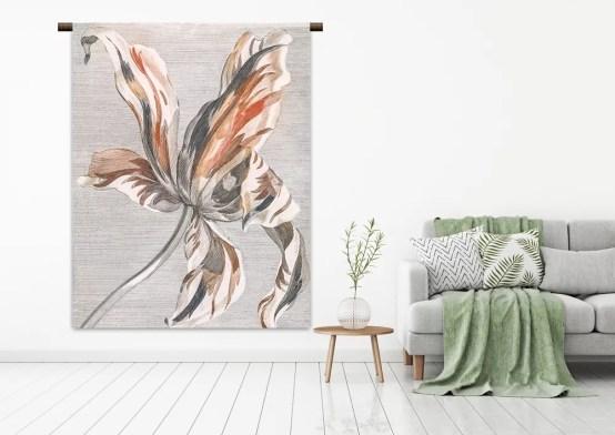 Wandkleed tulp