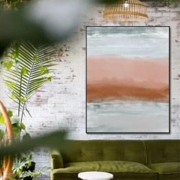 Akoestisch paneel waves color
