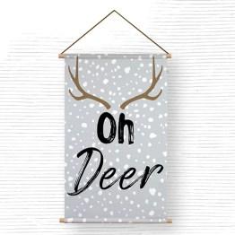 Textielpsoter oh deer