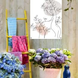 Tuinposter woman