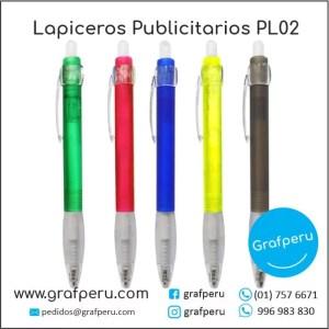 LAPICEROS PUBLICITARIOS CORPORATIVO 02 LOGO ECOLOGICOS BARATOS ECONOMICOS GRAFPERU LIMA PERU
