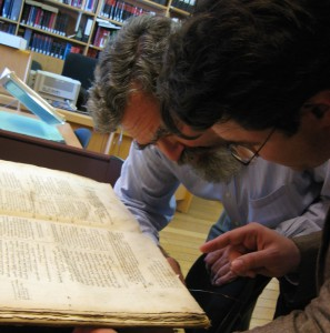 Tony and Theo in the Museum Plantin-Moretus