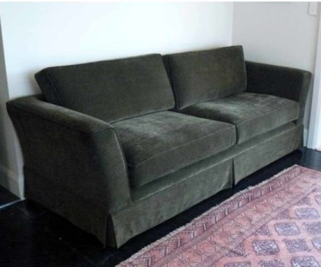 A classic simple couch