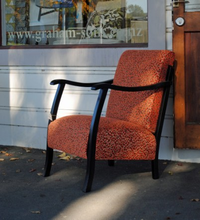 SOLD Recovered retro chair $1040