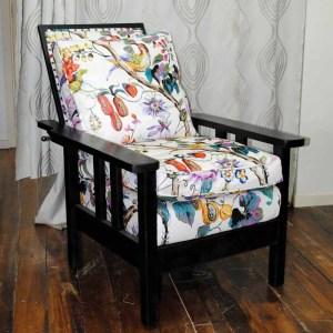 SOLD Oak Morris chair