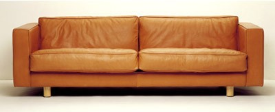 Thonet longreach leather couch sofa upholstery by graham and sons martinbrough