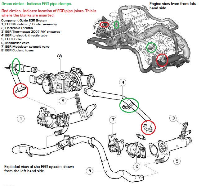 Egr Valve Diagram, Egr, Free Engine Image For User Manual
