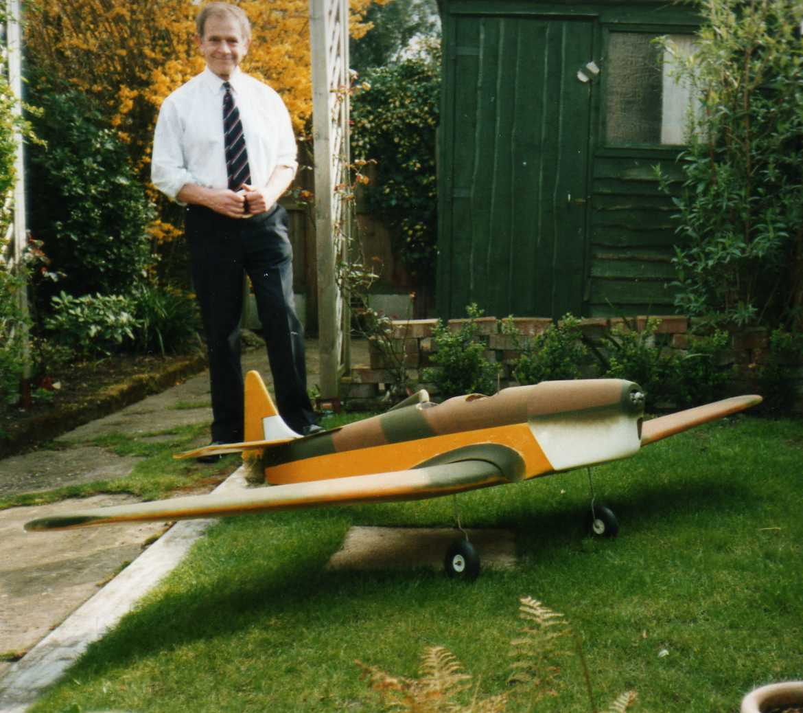 Flying Model of the Spitfire Trainer - Miles Magister