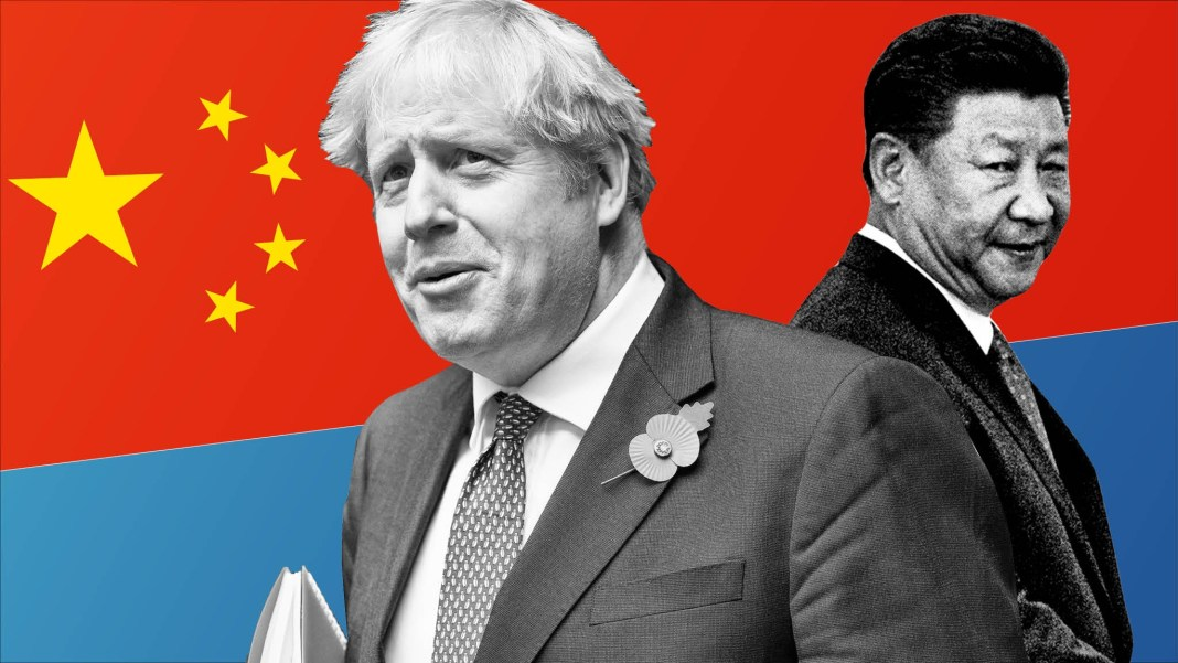 China/UK Relations-Two Problems